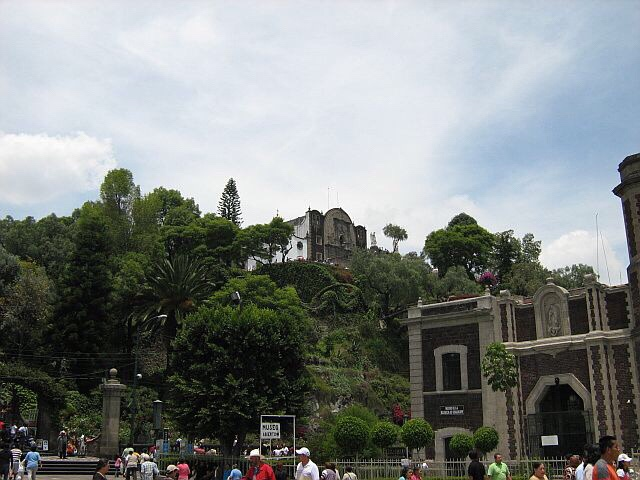View of Tepeyac Hill today