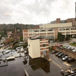 A view of the hospital where I am part time chaplain and spend a lot of time.