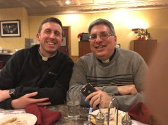 Fr. Angelo Patti, a good friend, and one of my deans.